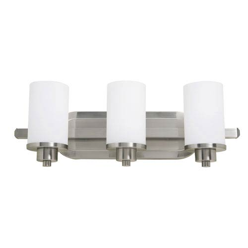 Artcraft Parkdale Polished Nickel Three-Light Bath Fixture