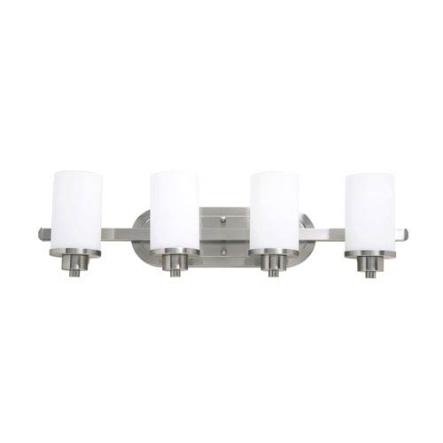 Artcraft Parkdale Polished Nickel Four-Light Bath Fixture