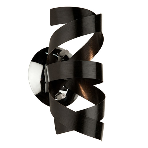 Artcraft Bel Air Black One-Light 5-Inch High Wall Sconce