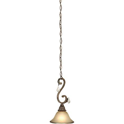 Florence Bronze One-Light Mini Pendant