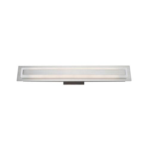 Echo Park Brushed Nickel LED 24-Inch One-Light Bathroom Vanity
