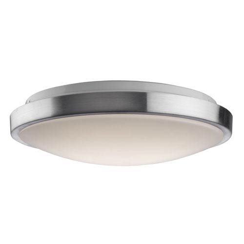 Brushed Nickel 14-Inch One-Light LED Flush Mount