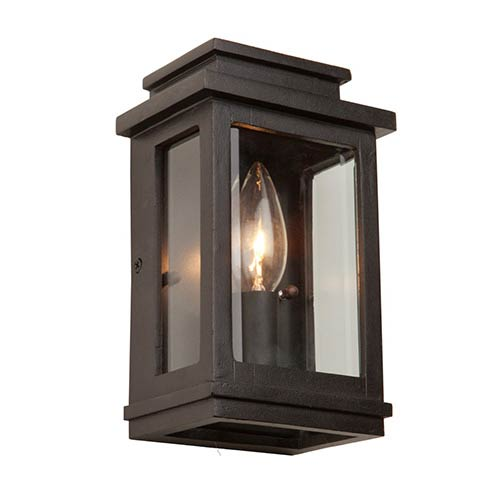 Artcraft Fremont Oil Rubbed Bronze One-Light 8-Inch High Outdoor Wall Sconce