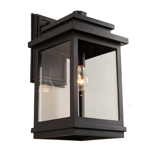 Fremont Oil Rubbed Bronze One-Light 7-Inch Wide Outdoor Wall Sconce