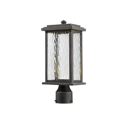 Artcraft Sussex Oil Rubbed Bronze LED One-Light Outdoor Post Mount