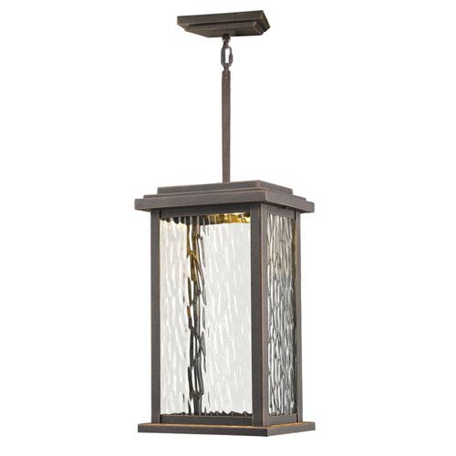 Sussex Oil Rubbed Bronze LED One-Light Outdoor Pendant