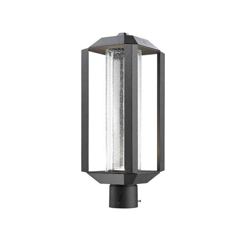 Wexford Black LED One-Light Outdoor Post Mount