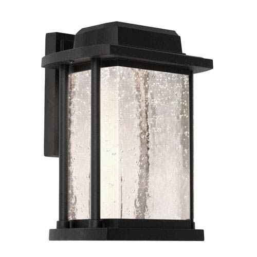 Addison Black 6.5-Inch One-Light LED Outdoor Wall Sconce