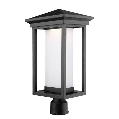 Overbrook Black One Light LED Outdoor Post Mount