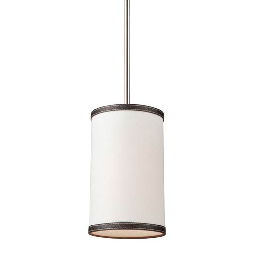 Bay Street Oatmeal One-Light Mini Pendant