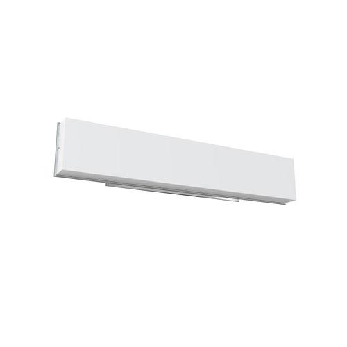 Cube Polished Chrome 26-Inch LED Bath Vanity