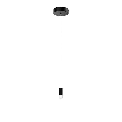 Seraph Matte Black One-Inch LED Mini Pendant