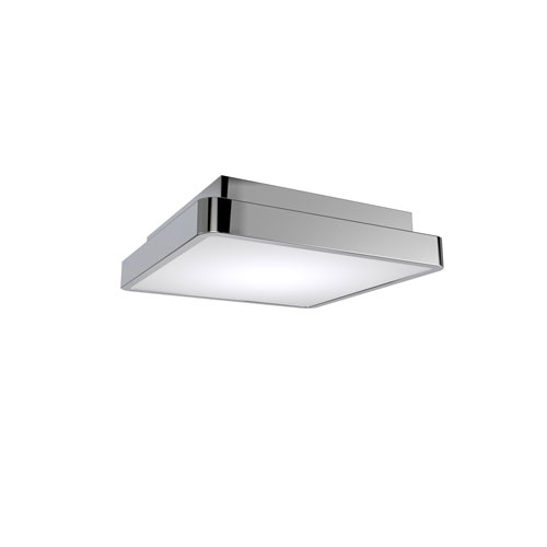 Surface Polished Chrome 11-Inch LED Flush Mount