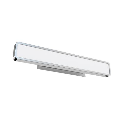 Surface Polished Chrome 26-Inch LED Flush Mount