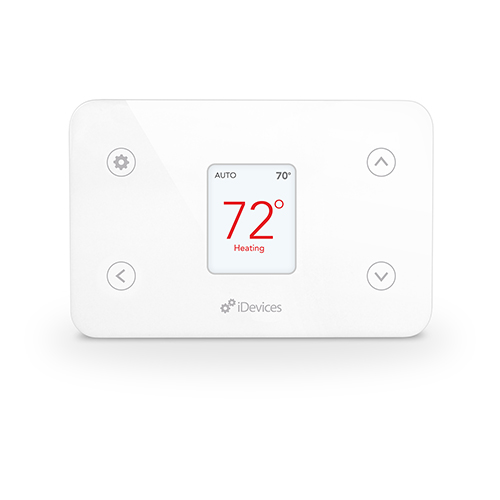 White Wi-Fi Enabled Smart Thermostat