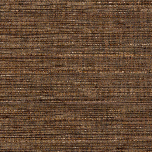 Norwall Wallcoverings Fine Seagrass Brown Wallpaper - SAMPLE SWATCH ONLY