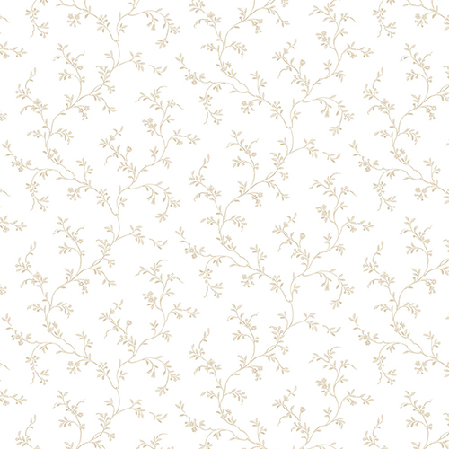 Norwall Wallcoverings Allison Trail Beige Wallpaper - SAMPLE SWATCH ONLY