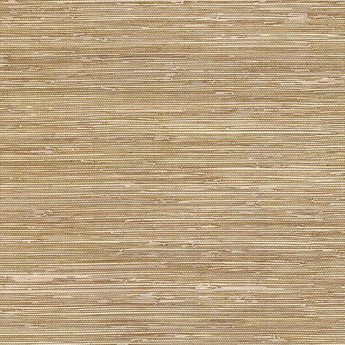Grasscloth Brown Wallpaper