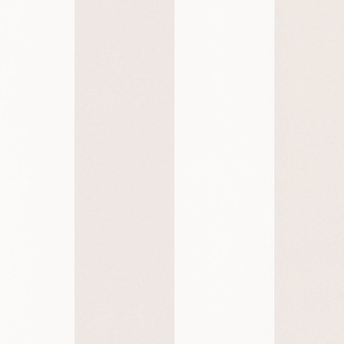Pearl and Opaque White 5.25 In. Stripe Wallpaper - SAMPLE SWATCH ONLY