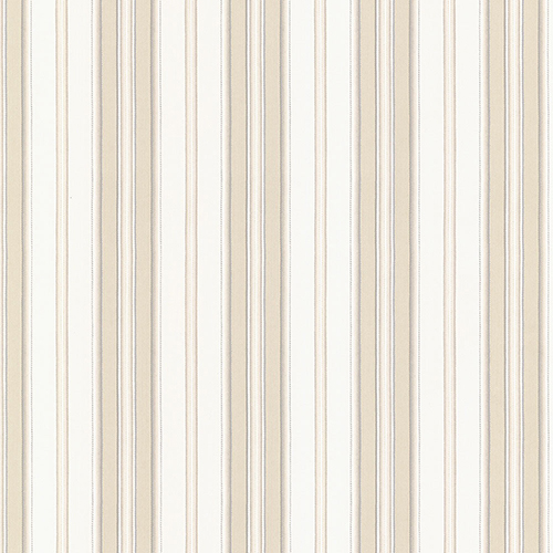 Heritage Stripe Beige and White Wallpaper - SAMPLE SWATCH ONLY