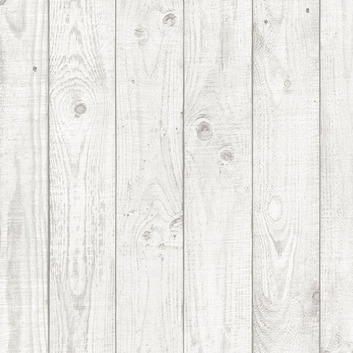 Norwall Wallcoverings Light Grey Barn Board Wallpaper - SAMPLE SWATCH ONLY