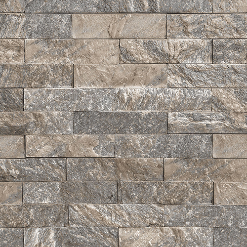 Black and Beige Stacked Stone Wallpaper