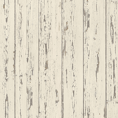 Cream and French Vanilla Shiplap Wallpaper