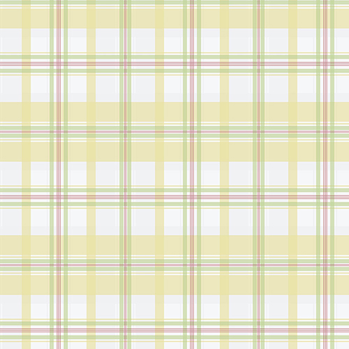Yellow, Green and Red Plaid Wallpaper