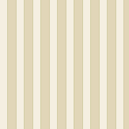 Regency Stripe Green and Beige Wallpaper - SAMPLE SWATCH ONLY