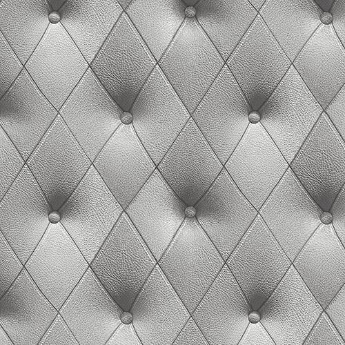 Buttonback Grey Wallpaper