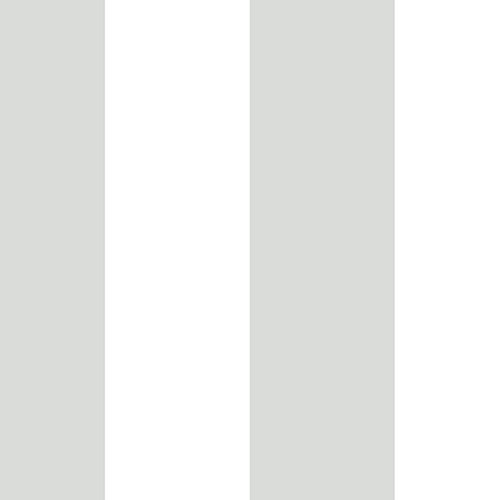 Grey and White 5.25 In. Stripe Wallpaper - SAMPLE SWATCH ONLY