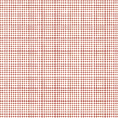 Mini Gingham Red Wallpaper