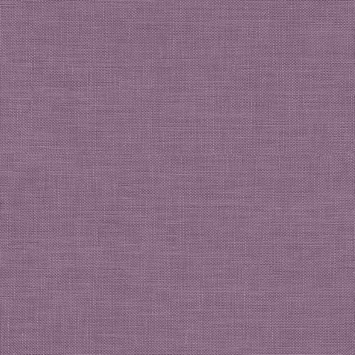 Rose Linen Purple Wallpaper