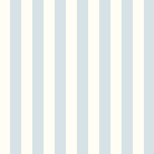 Norwall Wallcoverings Regency Stripe Blue and Pearl Wallpaper - SAMPLE SWATCH ONLY