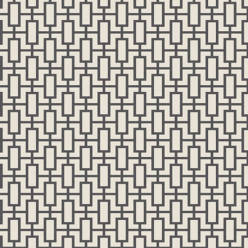 Norwall Wallcoverings Luxor Print Black and Beige Wallpaper - SAMPLE SWATCH ONLY
