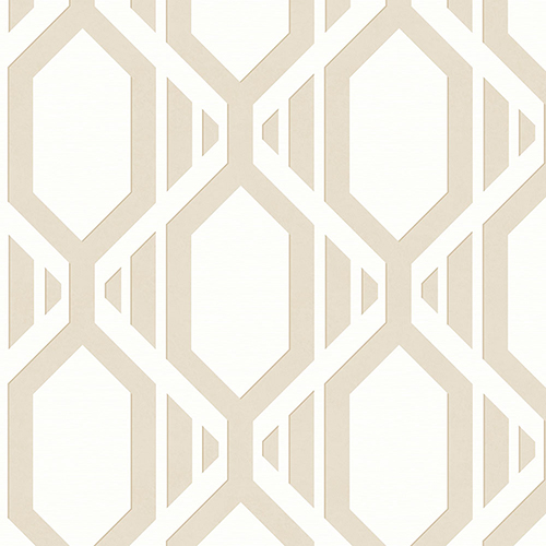Gatsby Beige Wallpaper