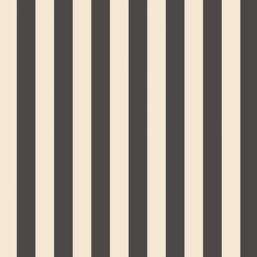 Regency Stripe Black and Beige Wallpaper - SAMPLE SWATCH ONLY
