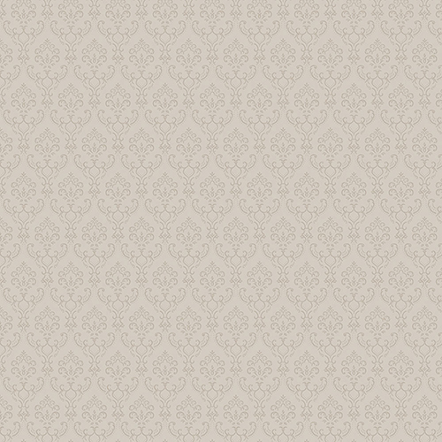 Norwall Wallcoverings Taupe Small Damask Wallpaper