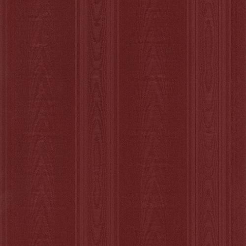 Medium Moiré Stripe Red Wallpaper - SAMPLE SWATCH ONLY