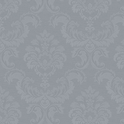 Damask Emboss Blue Wallpaper - SAMPLE SWATCH ONLY