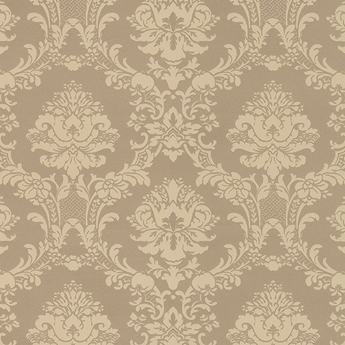 Document Damask Metallic Gold Wallpaper - SAMPLE SWATCH ONLY