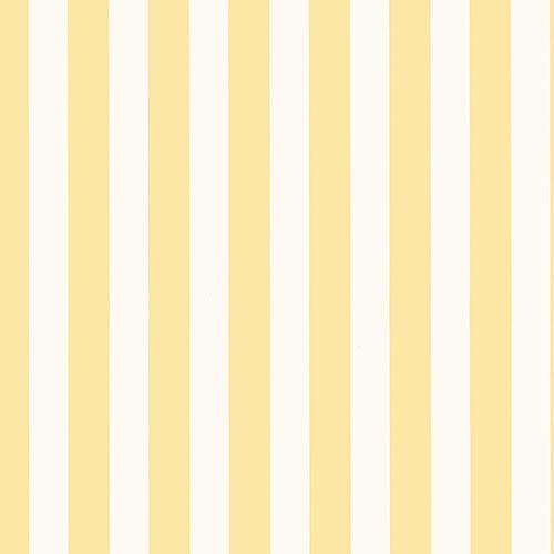Regency Stripe Butter Yellow Wallpaper