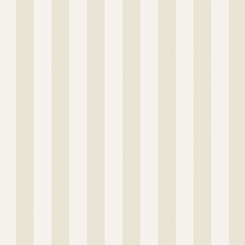 Norwall Wallcoverings Regency Stripe Cream and White Wallpaper - SAMPLE SWATCH ONLY
