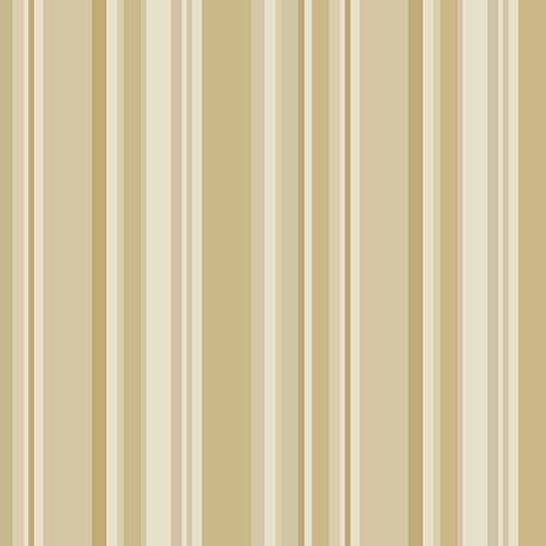 Norwall Wallcoverings Step Stripe Ochre and Cream Wallpaper - SAMPLE SWATCH ONLY