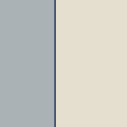 Blue and Beige XL Stripe Wallpaper - SAMPLE SWATCH ONLY