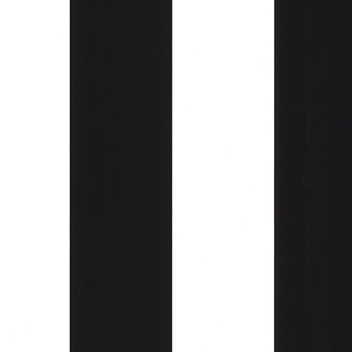 Black and White 5.25 In. Stripe Wallpaper