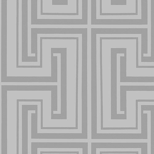 Tease Metallic Silver and Grey Wallpaper - SAMPLE SWATCH ONLY