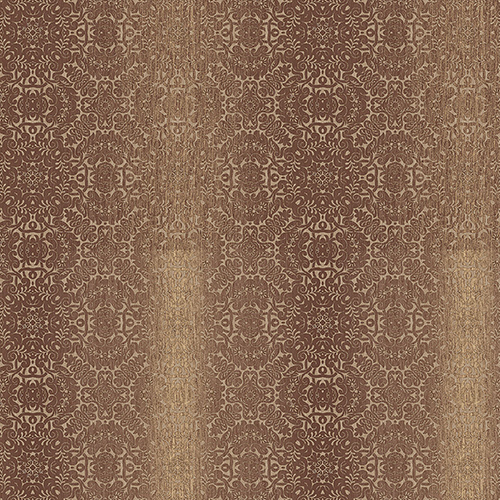 Tribal Rust, Ochre and Metallic Gold Texture Wallpaper - SAMPLE SWATCH ONLY
