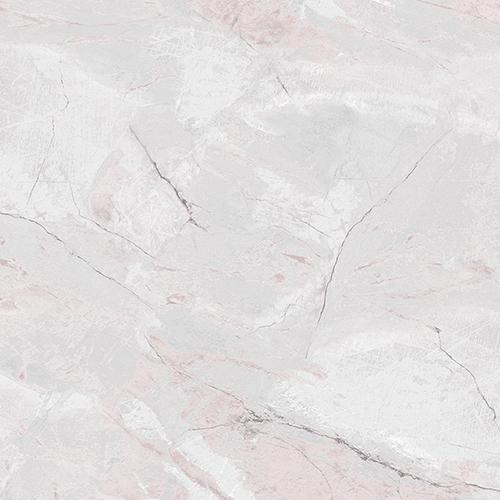 Carrara Marble Pink and Grey Wallpaper