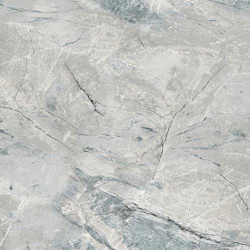Carrara Marble Teal Wallpaper